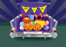 Trunk Or Treat Halloween Night