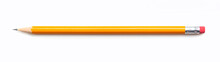 Pencil Isolated On White Backg...
