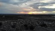 A sunset over Las Cruces in New Mexico.