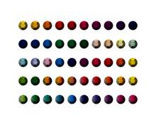 Set Of Colorful Rhinestones