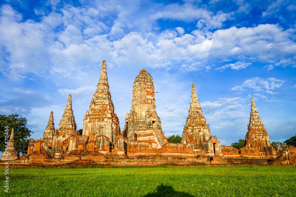 Fototapety, obrazy: Wat Chaiwatthanaram temple, Ayutthaya, Thailand