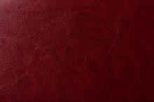 Burgundy Leather Texture. Eleg...