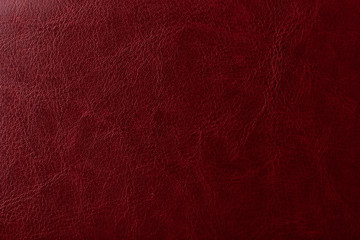 Burgundy leather texture. Elegant background