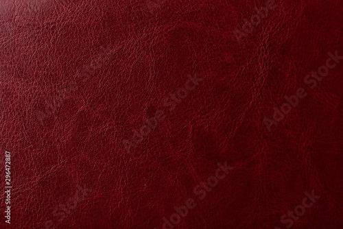 Obraz na płótnie Burgundy leather texture. Elegant background