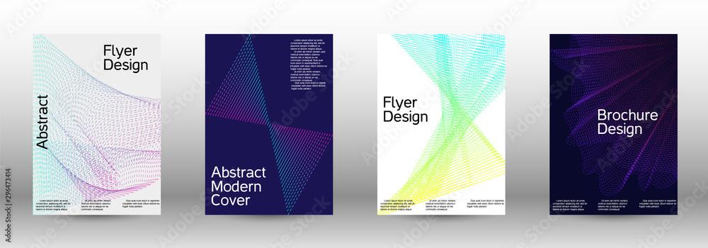Fototapety, obrazy: Cover design template set