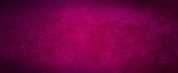 Dark elegant pink marbled background with black vignette border and old distressed vintage grunge texture illustration