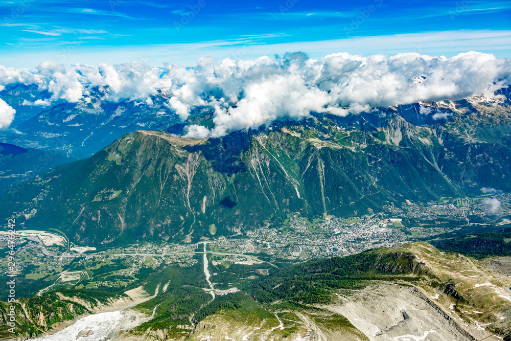 Fototapety, obrazy: Mont Blanc Massif In The French Alps
