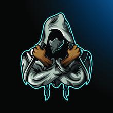 Ninja Assassin Mascot For Sport And Esport Or Gamer Logo
