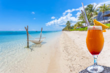 Cocktail On The Beach, The Morne, Mauritius