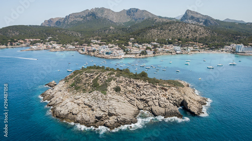 Photo San Telmo aerial view,  balearic islands, Spain