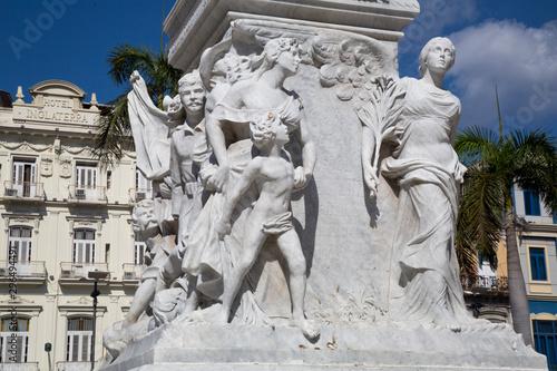 Jose Marti Denkmal in Havanna Canvas Print