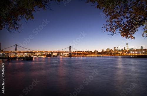 Manhattan after sunset