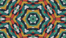 Abstract Colorful Seamless Pat...