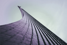 Rocket Building In Moscow - A Landmark In Honor Of Space