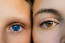 Two Girls With Different Eyes ...