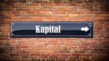 Schild 404 - Kapital