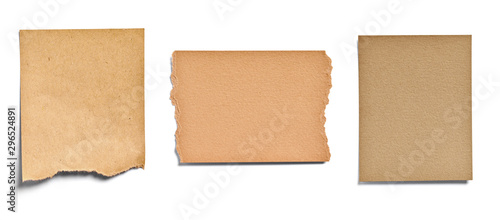 Fotomural note paper blank sign tag label