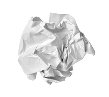 Paper Ball Crumpled Garbage Trash Mistake