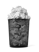 Paper Ball Trash Bin Rubbish G...