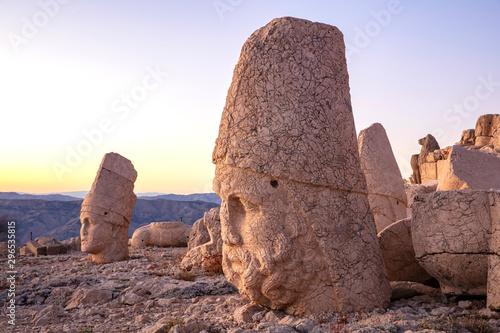 Stampa su Tela  Mount Nemrut in Turkey.