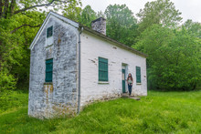 Lock Keepers House On The Chesapeake And Ohio Canal