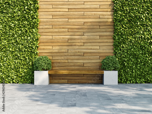 Fotografia Decorative wooden wall