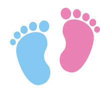 Baby Foot Barefoot Sole Imprin...