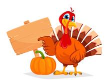 Thanksgiving Turkey Pointing O...