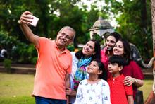 Indian Grandfather Taking Self...