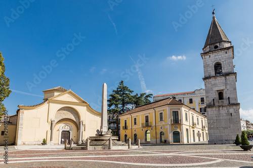 Photo Museum complex of the Church of Santa Sofia in Benevento, Campania, Italy, UNESC