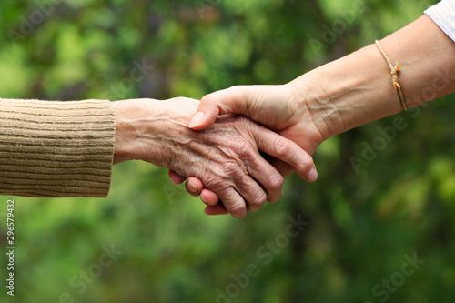 Photo Familie, Hand in Hand, Zusammenhalt