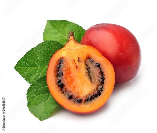 Tamarillo fruits.