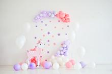 Composition Of Balloons. Decor...