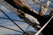 Figurehead Of An Ancient Sailing Ship