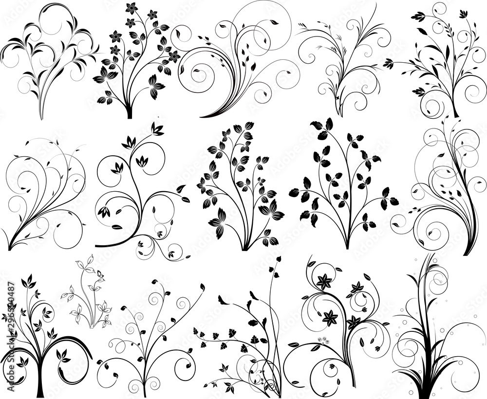 Fototapeta Abstract vector pattern design illustration