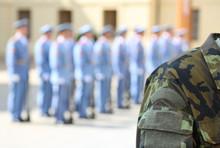 Platoon Of Soldiers