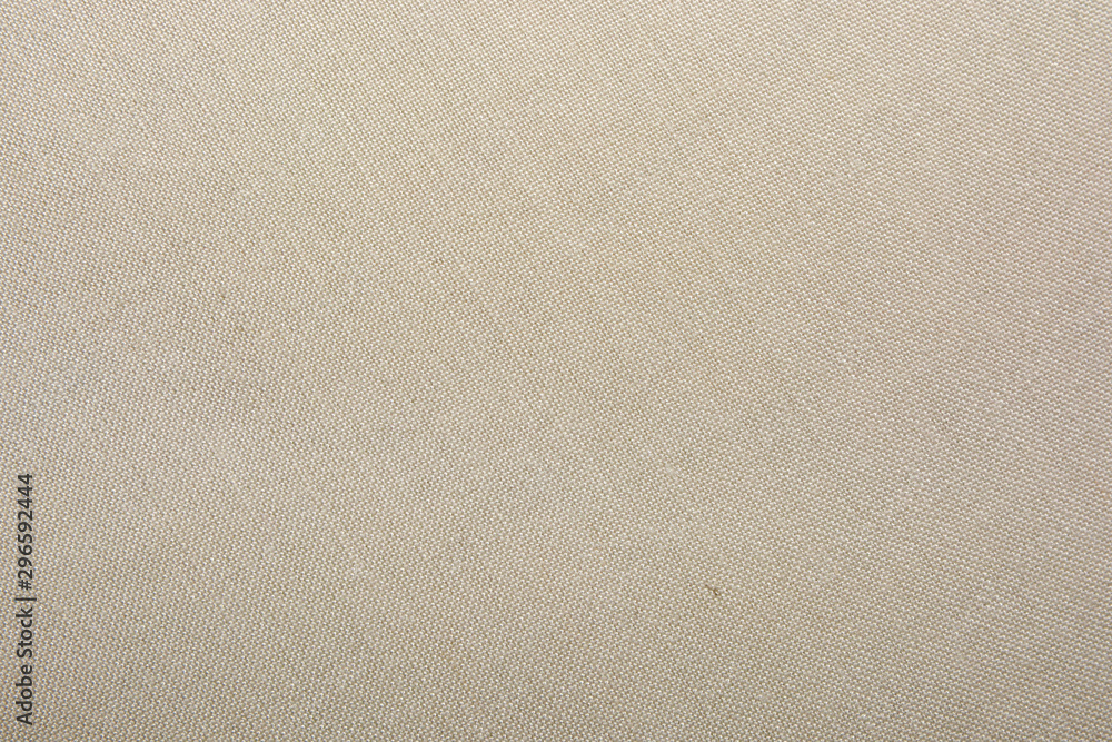 Fototapety, obrazy: Fabric canvas natural linen beige texture for backgrounds