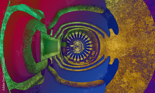 3d Abstract Design - 296593020