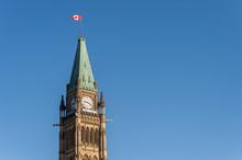 Canadian Parliament Building In Ottawa