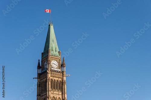 Obraz na plátně Canadian Parliament Building in Ottawa