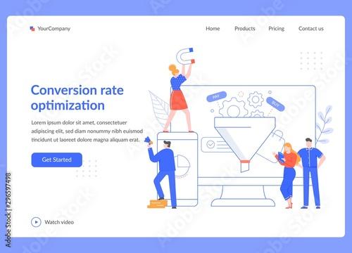 Carta da parati Conversion rate optimization