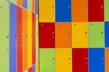 Children Cabinet Colorful  Lockers