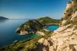 Porto Timoni is an amazing beautiful double beach in Corfu Greece