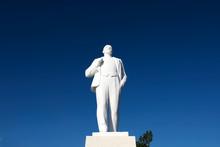 White Monument Vladimir Lenin