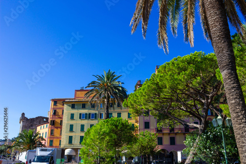 Architecture of Santa Margherita Ligure Tableau sur Toile
