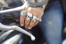 Rocker Totenkopf Motorrad