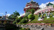 Cebu Taoist Temple Is Located In Upscale Town Beverly Hills Subdivision Of Cebu City, Philippines Which Was Built By  Chinese Community In 1972