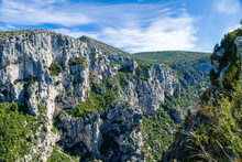Gorges Of Verdon Canyon, South Of France.