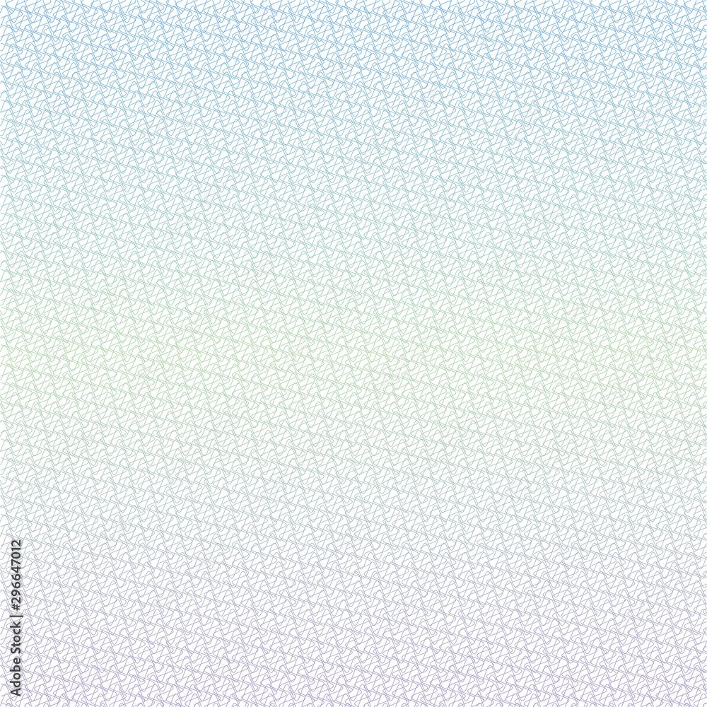 Fototapety, obrazy: Guilloche grid, template for diplomas, certificates, letterheads, it is used to protect securities, eps 10