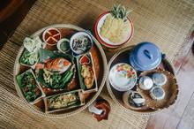 Set Of Local Food At Na Ton Ch...